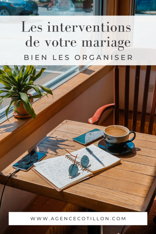 Epingle Pinterest - organiser interventions discours mariage